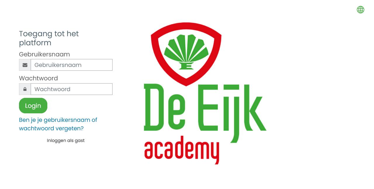 De Eijkgroep Academy - Online leeromgeving