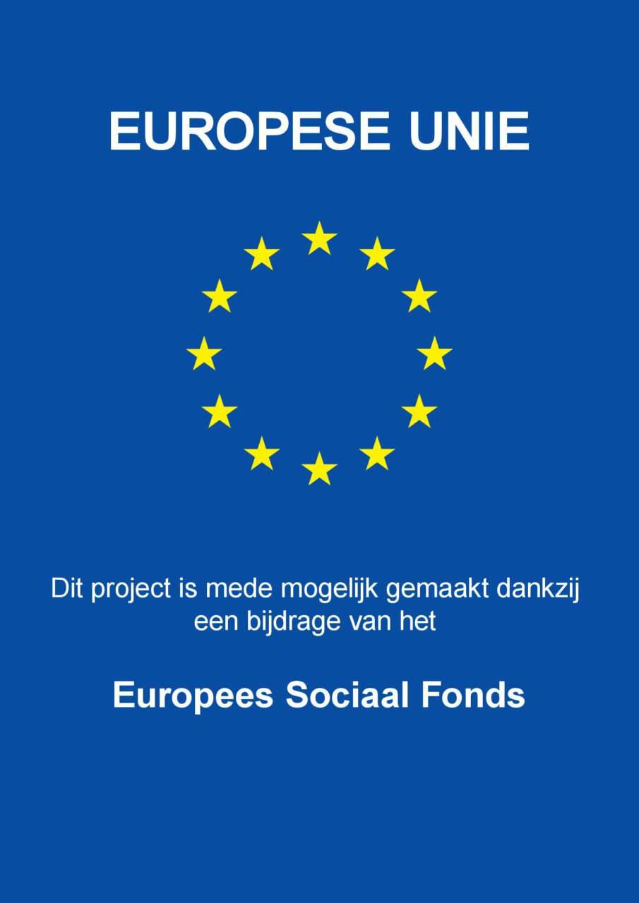 Europees Sociaal Fonds affiche