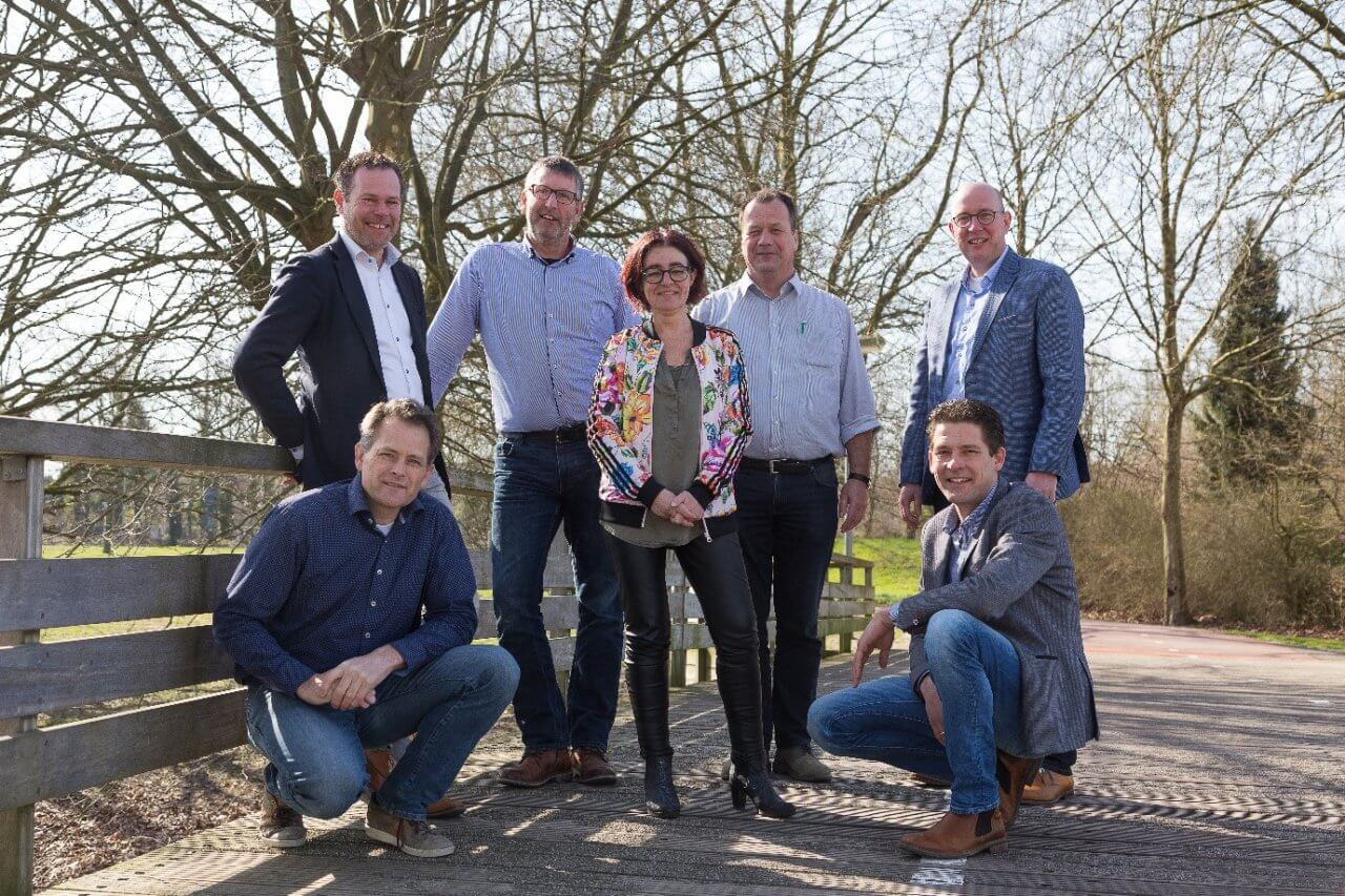 Groepsfoto Team DEG